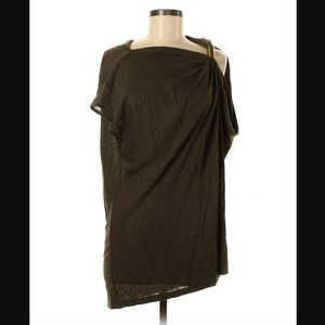 Kenneth Cole Linen Tunic Blouse